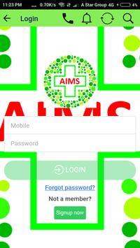 AIMS screenshot 2