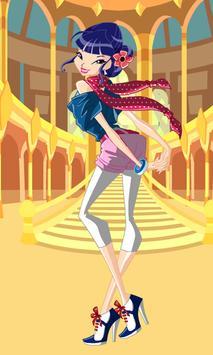 Dress Up Musa Winx poster