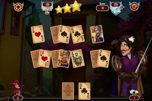 Musketeer Solitaire Free poster