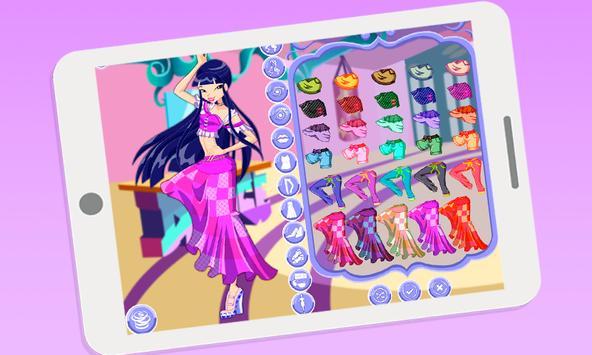 Dress up Musa Winx 2 apk screenshot