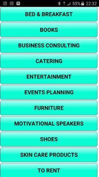 Mzansi business directory apk screenshot