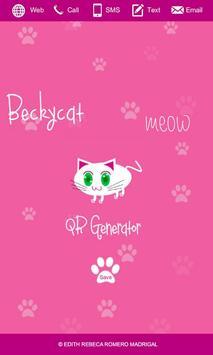 Meow QR Generator apk screenshot