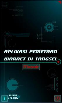 Aplikasi Pemetaan Warnet poster