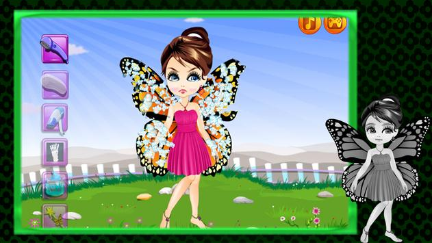 Makeover : Butterfly Fairy screenshot 12