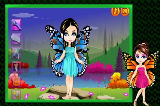 Makeover : Butterfly Fairy screenshot 1