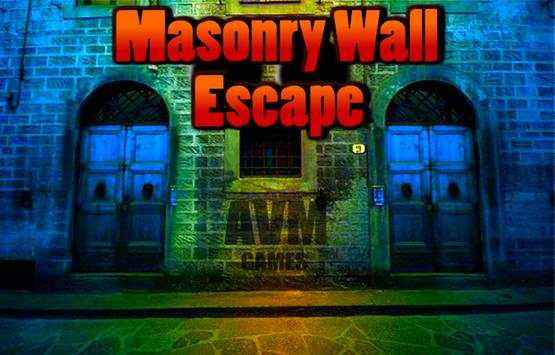 Masonry Wall Escape poster
