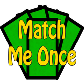 Match Me Once - Free icon