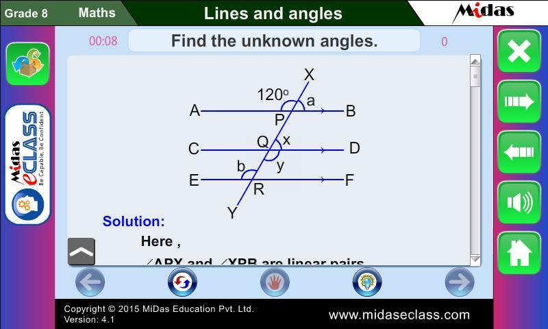 MiDas eCLASS Maths 8 Demo for Android - APK Download
