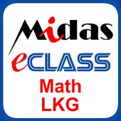 MiDas eCLASS LKG Maths Demo icon