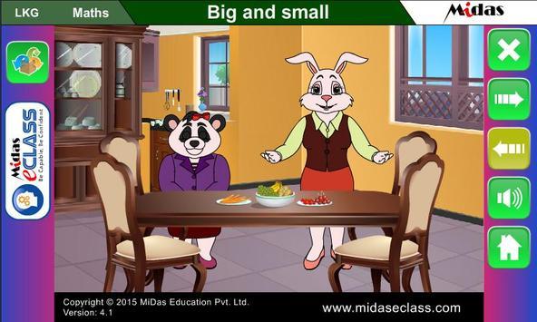 MiDas eCLASS LKG Maths Demo poster
