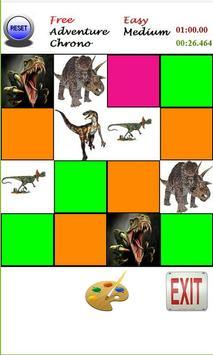 Memorex - Jurassic Cards Game apk screenshot