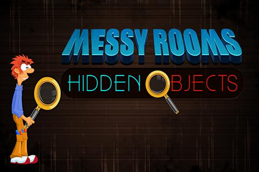 Messy Rooms Hidden Objects poster