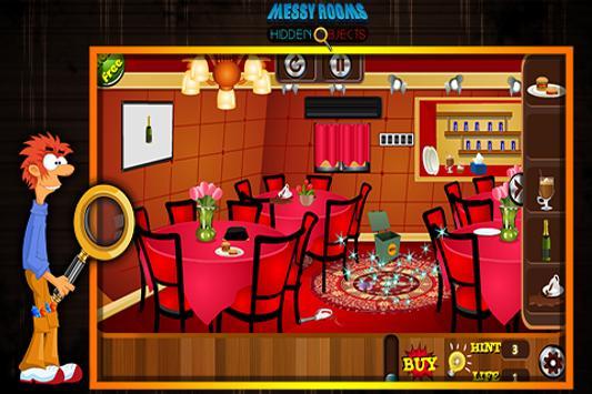 Messy Rooms Hidden Objects apk screenshot