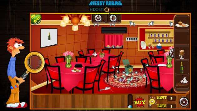 Messy Rooms Hidden Objects screenshot 6