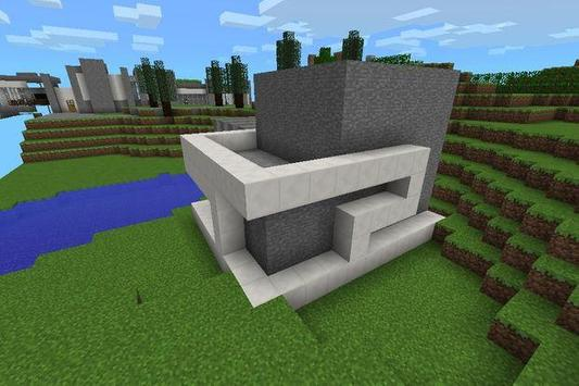 Modern House in MCPE poster