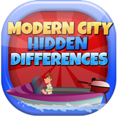 Modern City Hidden Differences icon