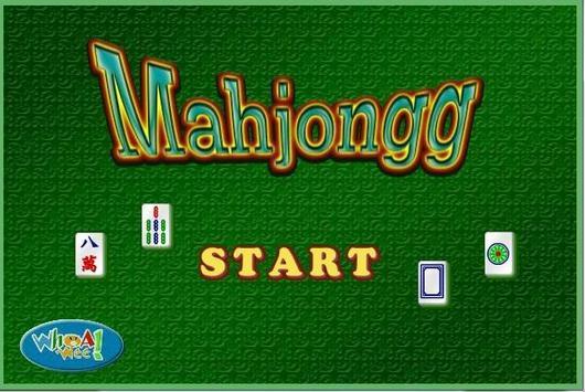 Mohjongg poster
