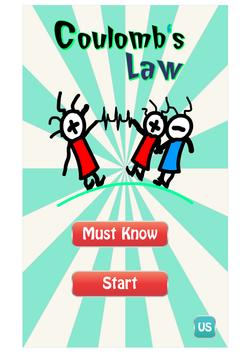 Coulomb's Law apk screenshot