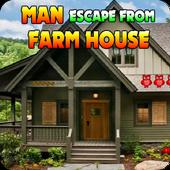 Man Escape From Farm House icon