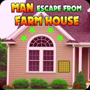 Man Escape From Farm House poster