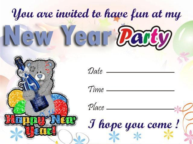 New Year Party Invitation Card For Android Apk Download