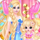 Princess And Baby makeup Spa icon