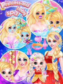 Princess And Baby makeup Spa apk screenshot
