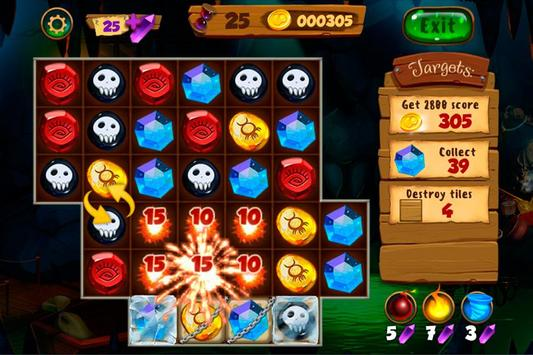 Neverland Jewels Match 3 screenshot 5