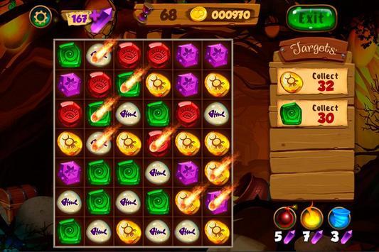 Neverland Jewels Match 3 screenshot 6