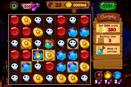 Neverland Jewels Match 3 screenshot 1