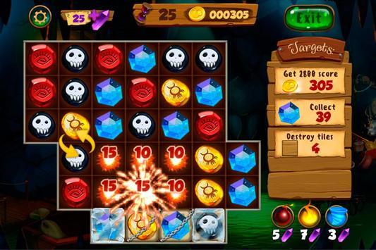Neverland Jewels Match 3 screenshot 2