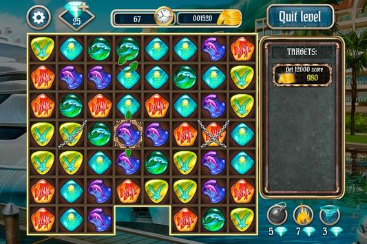 Overseas Jewels Free 2 screenshot 1
