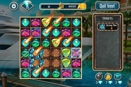 Overseas Jewels Free 2 screenshot 2