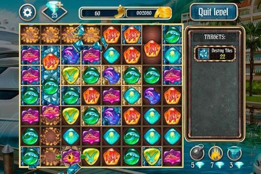 Overseas Jewels Free 2 screenshot 3