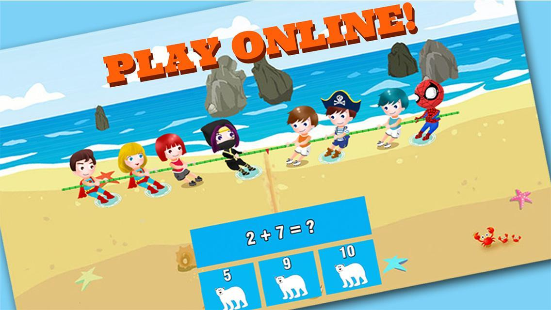 Fun math game for kids online for Android - APK Download