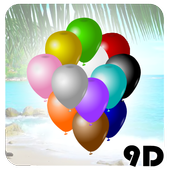 Kids Balloons -Teach us colors icon