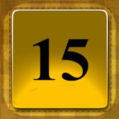 15 Puzzle Gold icon