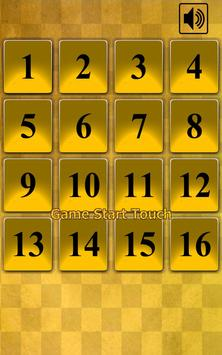 15 Puzzle Gold poster