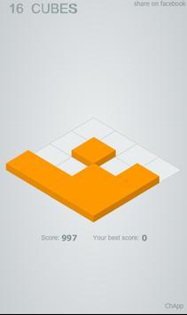 16 Cubes screenshot 1
