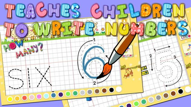 1+1 Learning math toddlers poster