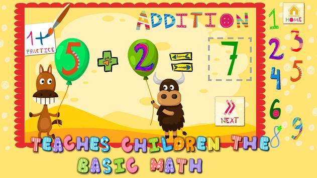 1+1 Learning math toddlers screenshot 1