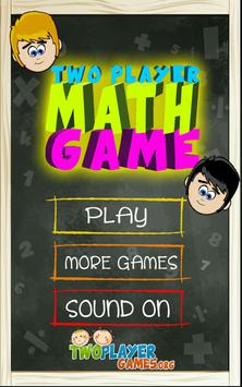 2 Player Math Game poster