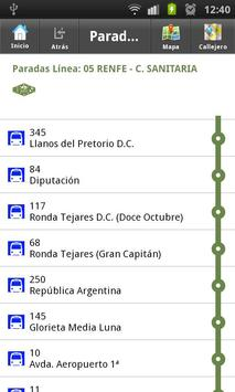 Buses de Córdoba screenshot 1