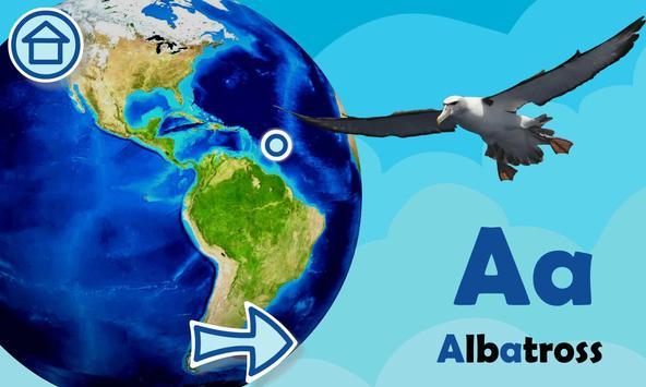 ABC with animals free alphabet screenshot 2