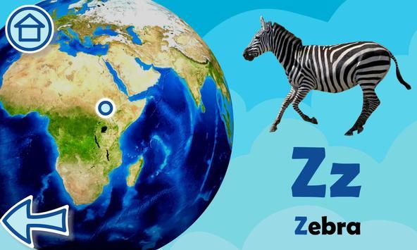 ABC with animals free alphabet screenshot 7