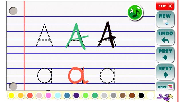 ABC Learning letters toddlers apk screenshot