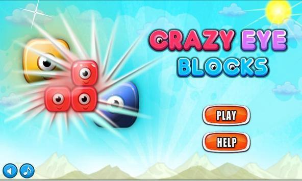 Crazy Eye Blocks poster