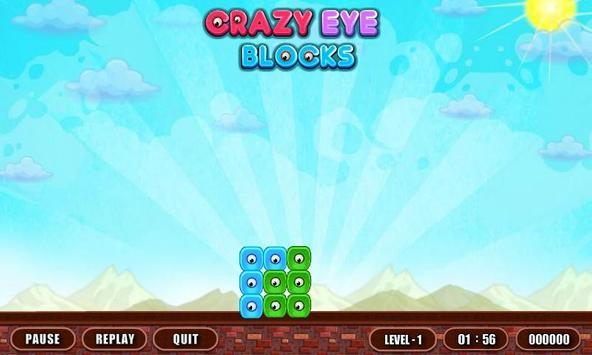 Crazy Eye Blocks screenshot 1
