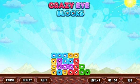 Crazy Eye Blocks screenshot 2
