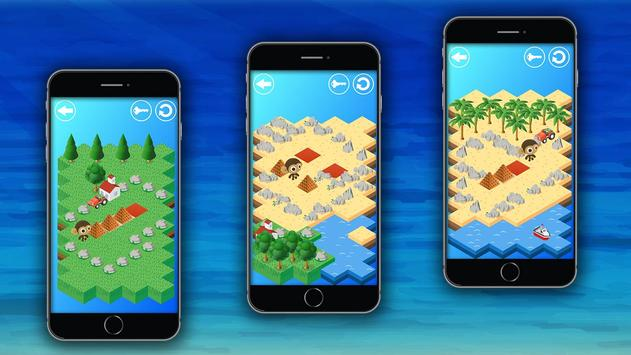Monkey - Logic puzzles screenshot 1